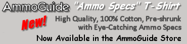 AmmoGuide 'Ammo Specs' T-Shirt!