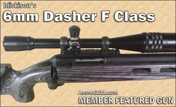 ldickison's 6mm Dasher F Class