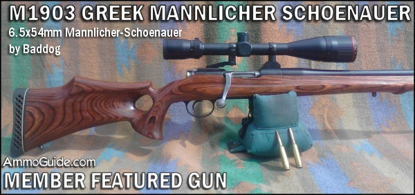 M1903 GREEK MANNLICHER-SCHOENAUER by baddog