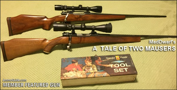 A Tale of Two Mausers by AmmoGuide subscriber 'Maddwarf'